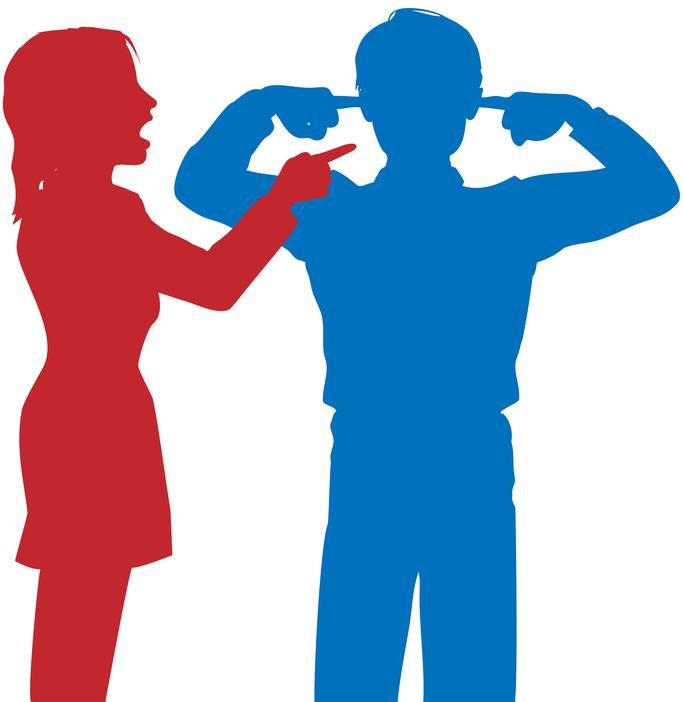 Problemi di coppia comunicare senza litigare - Coppia di amatori che scopano sul divano ...